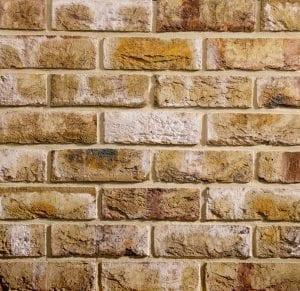 London weathered Yellow Brick Slip Image