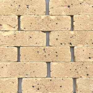 Buff brick tile