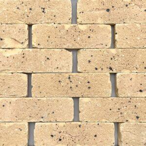 Buff brick tile