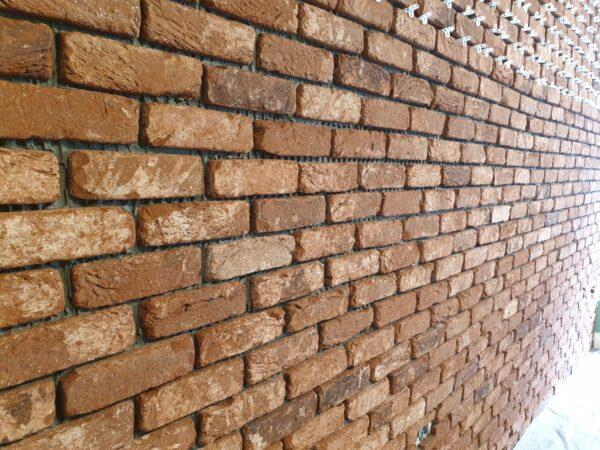 Reclaimed brick slip texture