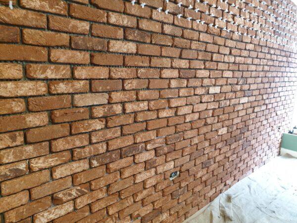 Genuine clay texture handmade brick slips