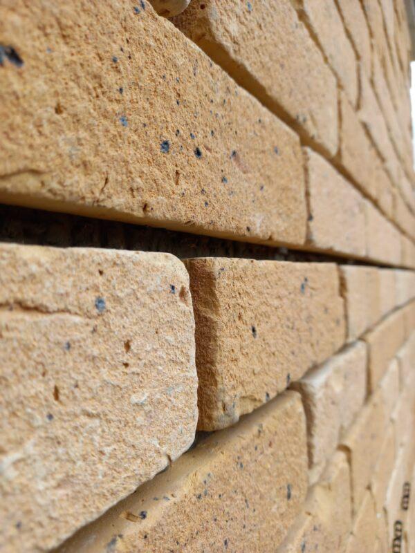 yellow brick tiles