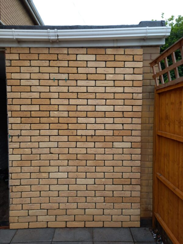 buff brick tiles
