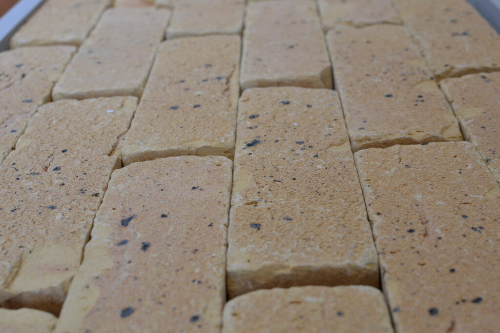can you use brick slips on the floor