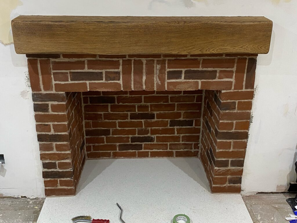 Brick Tile Installation