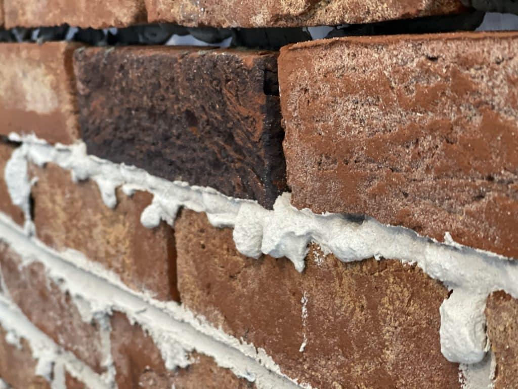 brick slipmortar