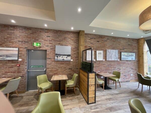 commercial interior brick slip tiles middleton blend