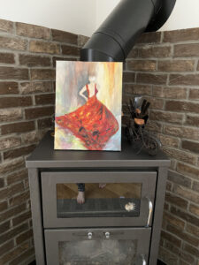 brick slip tiles for log burners and stove surrounds