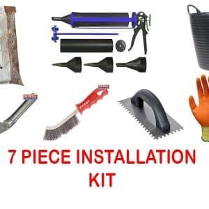 brick slip Installation kit