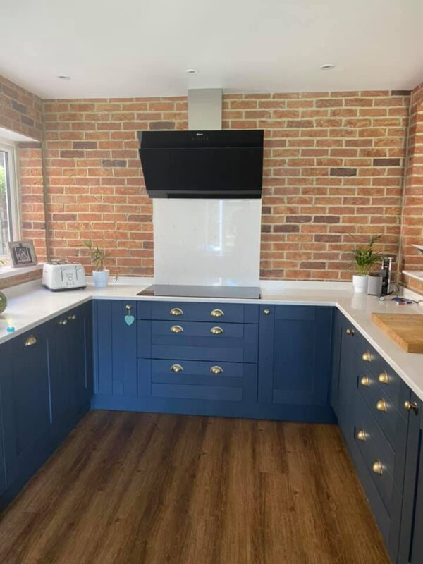 brickslip for kitchen splashback