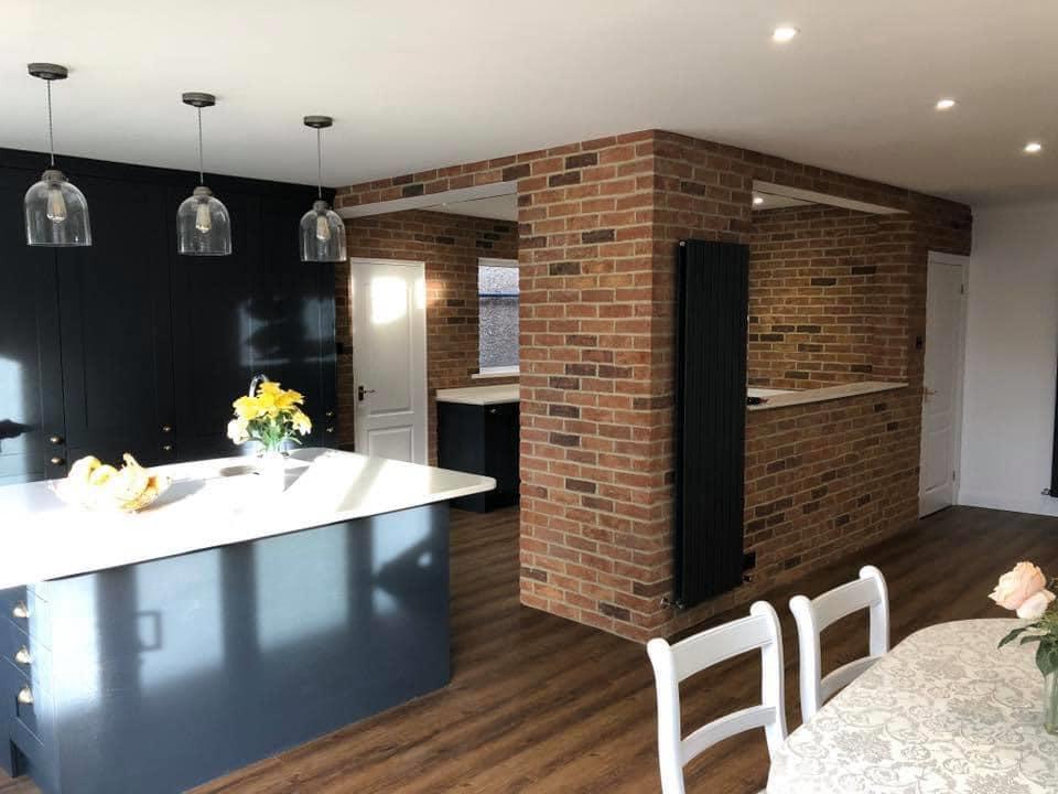 Euphoria Kitchen brick slips