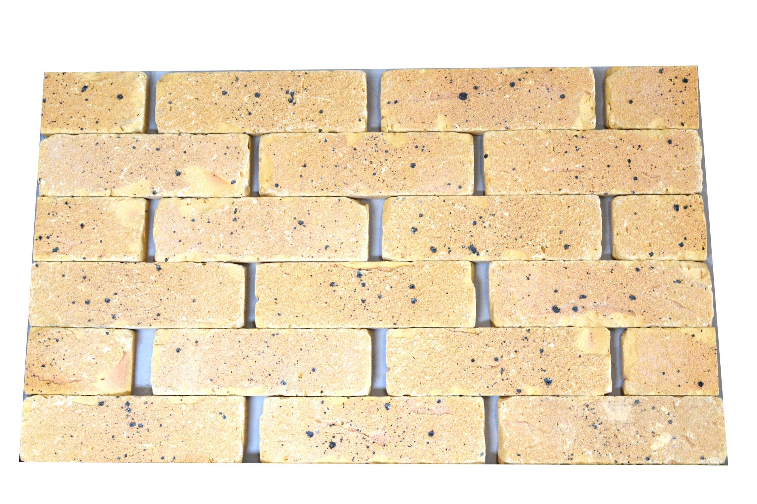 Tamisa buff brick slips tile