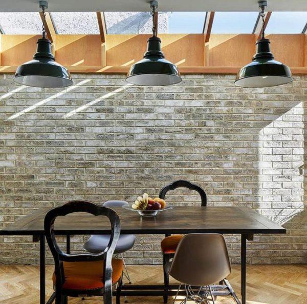 Brick Slip internal dinning room