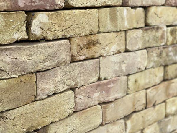 Reclaimed London bricks slips