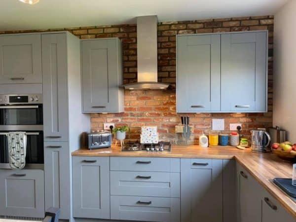 reclaimed olde bayswater kitchen brick slips