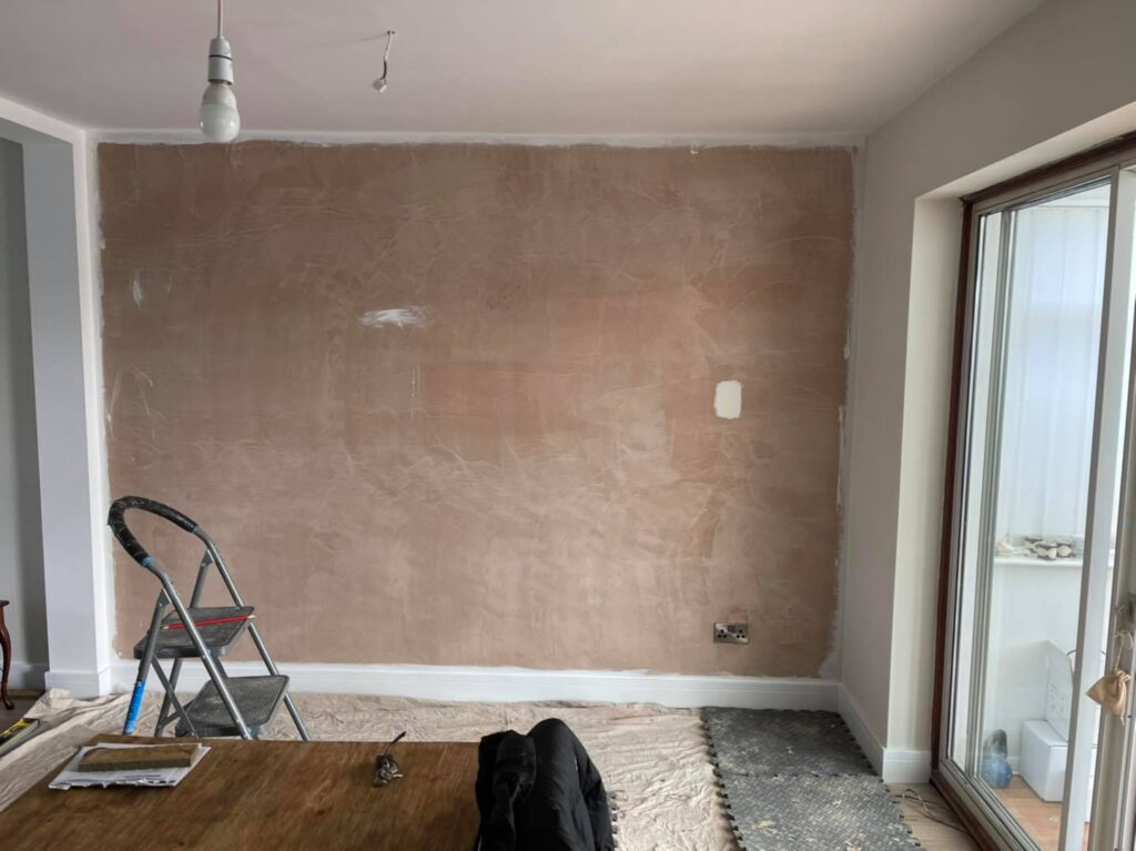 feature wall brick slips per m²