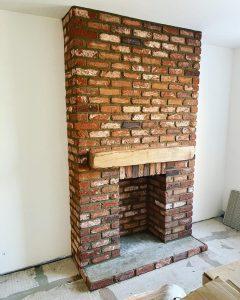 chimney breast brick slips