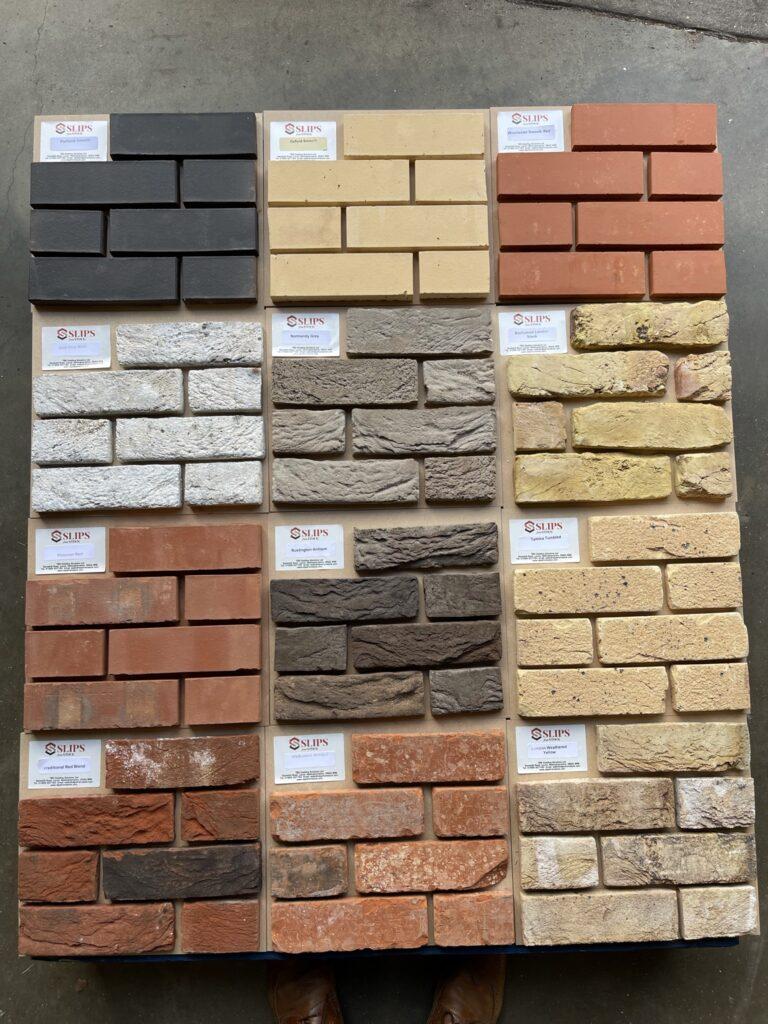 Free Brick Slip Samples