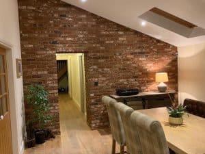 dining room brick slipos