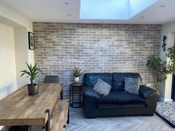 Brick Slip Feature Wall